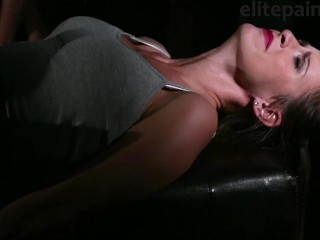 girl amanda recieve bastinado from slavegirl