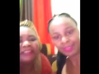 Kenyan Lesbian Sensual Titty Sucking & Licking