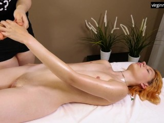 Virgin youngster Roka enjoys her fingers loosen up all the way through therapeutic massage