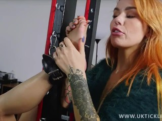 Jade Tickles Ayla Sky