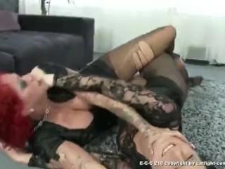 Pantyhose catfight 2