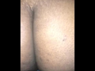 Bouncing my sloppy rainy pussy on Daddy's dick