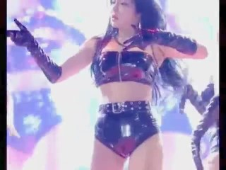 Superior Horny KPOP Glossy Latex Dancer [fancam edit pmv asian korean]