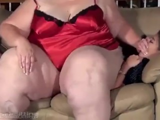 BBW HOM and Smother Thin Lady