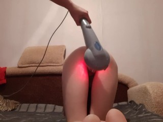 Fucked my stepsister with a puppy taste massager