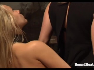 Scorching Lesbian Youngster Orgasms From Vibrator And Mistresses Fingers