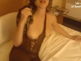 Horny Victoria Mouth stuffed with Cum after superb intercourse