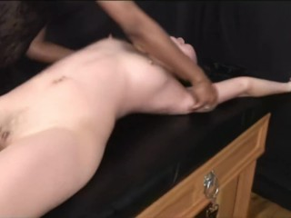 Asian youngster woman tied and tickled 2