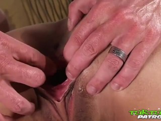 Stood up and plucked for a pleasant Thai fuck!