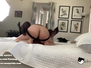 Asian Milf Futa StrapOn Leather-based Gloves Making Out At the back of The Scenes Cuck View