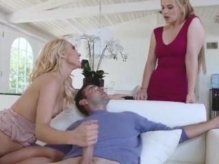 badmilfs – attractive cougar fucks daughters boyfriend