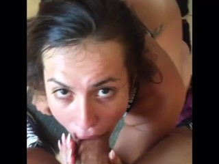 tight pussy complain rides a thick dildo