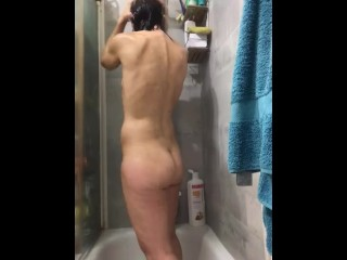 Contemporary spanish milf having a unfastened bathe throughout confination simply shaved