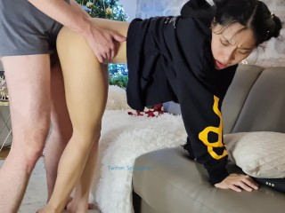 June Liu 刘玥 / SpicyGum – Chinese language Youngster Blowing & Driving a Adorable Geek's Dick / Novice