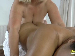 OLDNANNY British Mature Lacey Starr Intimate Time