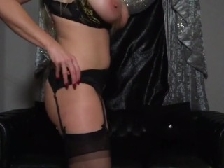 My scorching step Mother does not put on panties