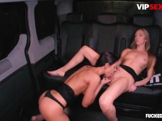 FuckedInTraffic – Czech Beauties Hardcore Public Lesbian Intercourse In The Automobile – VIPSEXVAULT