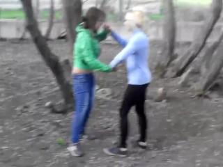 Russian scorching women wrestling